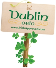 Irish Approved sign