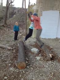 Log jumps