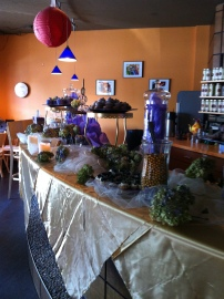 Special set up for a bridal shower at TehKu!